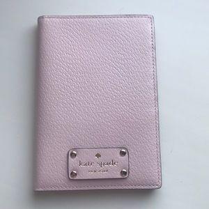 NWOT Kate Spade Passport Holder in Light Pink